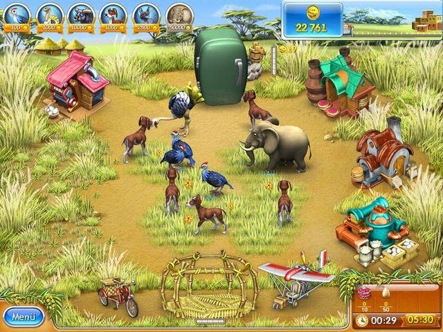 Farm Frenzy 3: Madagaszkár gra