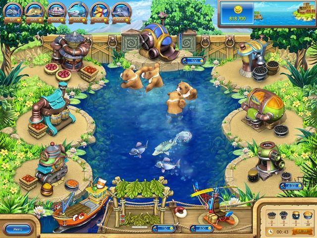 Oyun macera balık tutma oyunu