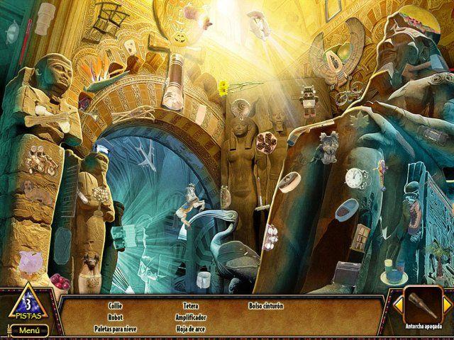 Hide & Secret 3: Pharaoh's Quest en Español game